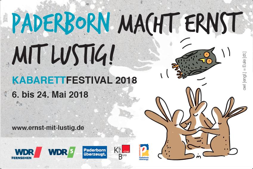 Salzburger Stier - Motto für Kabarettfestival & Preisverleihung in Paderborn