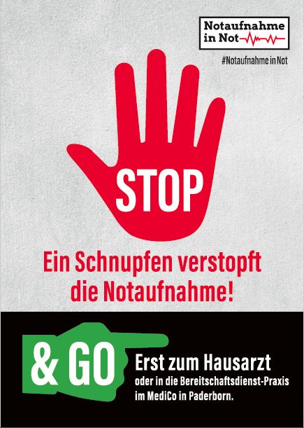 Notaufnahme in Not - Konzept, Motto & Text für die Awareness-Kampagne