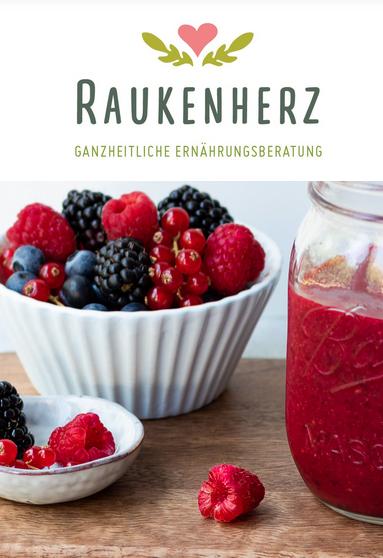 Raukenherz - Namensentwicklung Ernährungsblog und -beratung