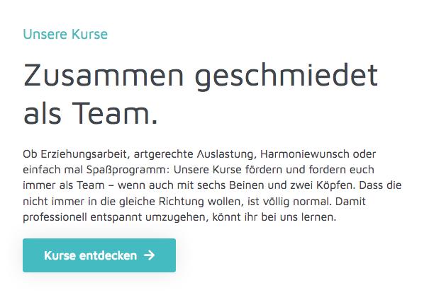 AKADEMIE FÜR MENSCH UND HUND - Webseiten-Texte